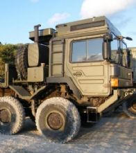 UK MAN HX77 Heavy Support Vehicle 16ton 8x8 Flatbed